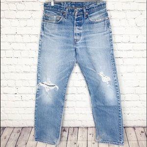 Men's Levi's 501XX Jeans Relaxed Straight Leg